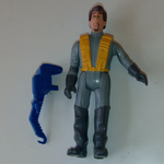 The Real Ghostbusters 1988 fright features Peter Venkman action figure loose @sold@